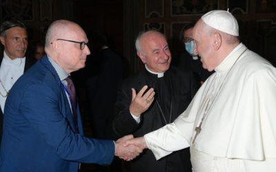 Prof. Walter Ricciardi on Meeting with Pope Francis